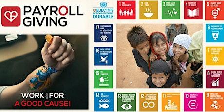 Contribuer aux Objectifs de Développement Durable grâce aux ONGs billets