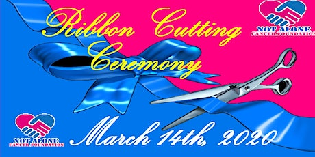 Ribbon Cutting Ceremony and Fundraiser against Cancer ingressos