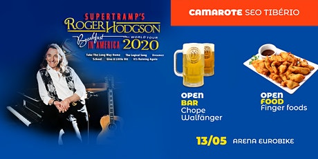 Roger Hodgson em Ribeirão Preto - Camarote Seo Tibério ingressos