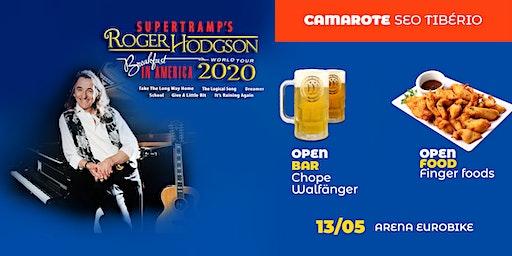 Roger Hodgson em Ribeirão Preto - Camarote Seo Tibério