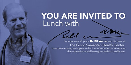 Lunch with Dr. Bill Warren hosted by Mark Chandler and Glenn Warren tickets