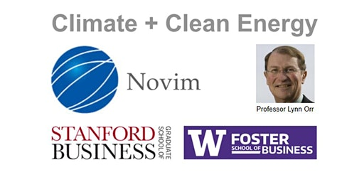 CLIMATE CHANGE AND CLEAN ENERGY - Stanford Professor Lynn Orr, emeritus