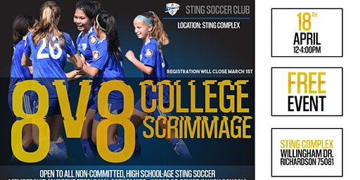 8v8 College Scrimmages