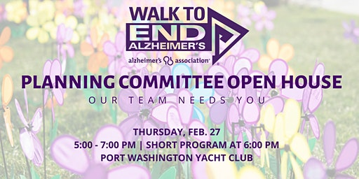 Walk to End Alzheimer's Committee Open House | Ozaukee County