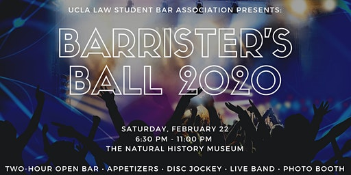 UCLA School of Law Barrister's Ball 2020