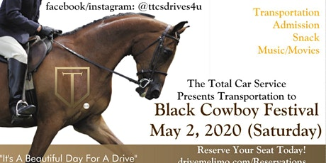 Black Cowboy Festival transportation from Charleston tickets