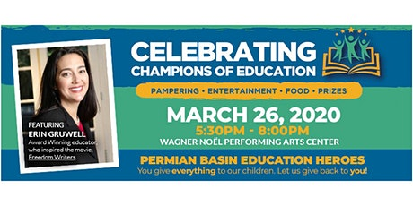 Celebrating Champions of Education tickets