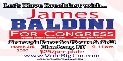 Breakfast with James Baldini