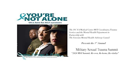 DC Veterans Affairs Medical Center 2020 Military Sexual Trauma Summit tickets