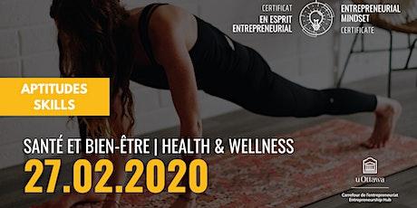 CEE: Santé et bien-être | EMC: Health & Wellness billets