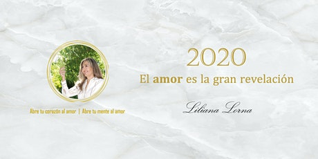"""Presentación del Libro """"2020 El amor es la gran revelación"""" boletos"""