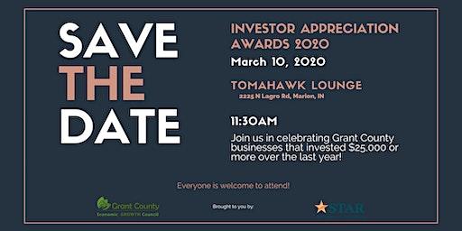 Investor Appreciation Awards Luncheon