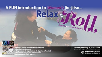 Relax & Roll Womens Open Mat & Introduction to Brazilian jiujitsu for Women