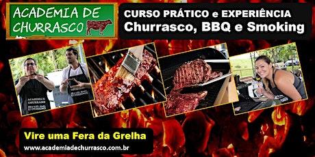 CURSO ACADEMIA DE CHURRASCO SÁBADO 15/FEV ingressos