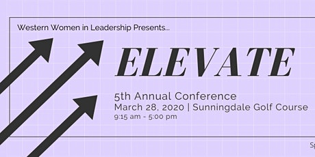 Western Women in Leadership Elevate Conference tickets