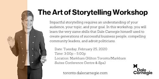 The Art of Storytelling Workshop - Markham