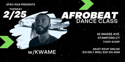 Afrobeat Beginners Dance Class  w/ Kwame