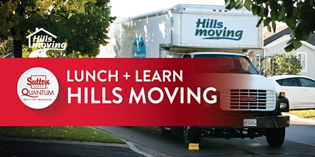 Lunch + Learn with Hills Moving  (+Giveaway!) tickets