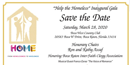"Inaugural ""Help the Homeless"" Gala"