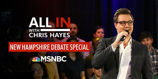All In with Chris Hayes: New Hampshire Debate Special