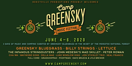 Camp Greensky Music Festival tickets