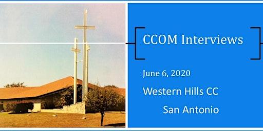 San Antonio CCOM Interviews