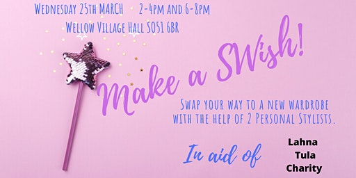 Make A SWish! EVENING TICKET 6-8PM