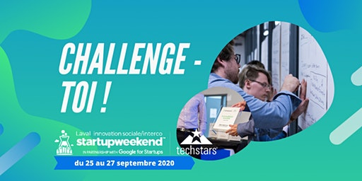 Startup Weekend Laval - Innovation Sociale & Inter-Co.