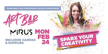 Sparx Your Creativity at Mirus Art Bar tickets