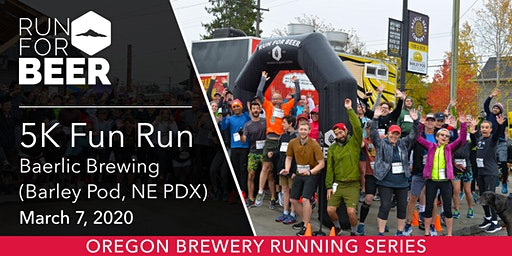 Baerlic Brewing Barley Pod 5k Fun Run
