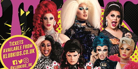 Klub Kids Amsterdam presents DRAG RACE UK live on stage  (all ages) tickets