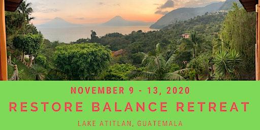 Restore Balance Retreat