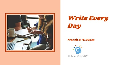 Write Every Day tickets