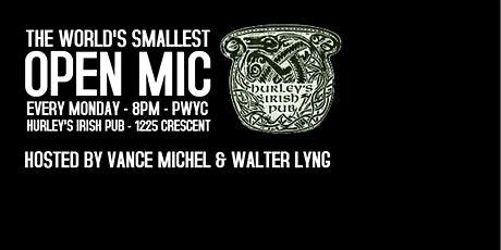 THE WORLD'S SMALLEST OPEN MIC tickets