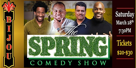 The Spring Comedy Show tickets