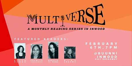 Multiverse: A Monthly Reading Series in Inwood tickets