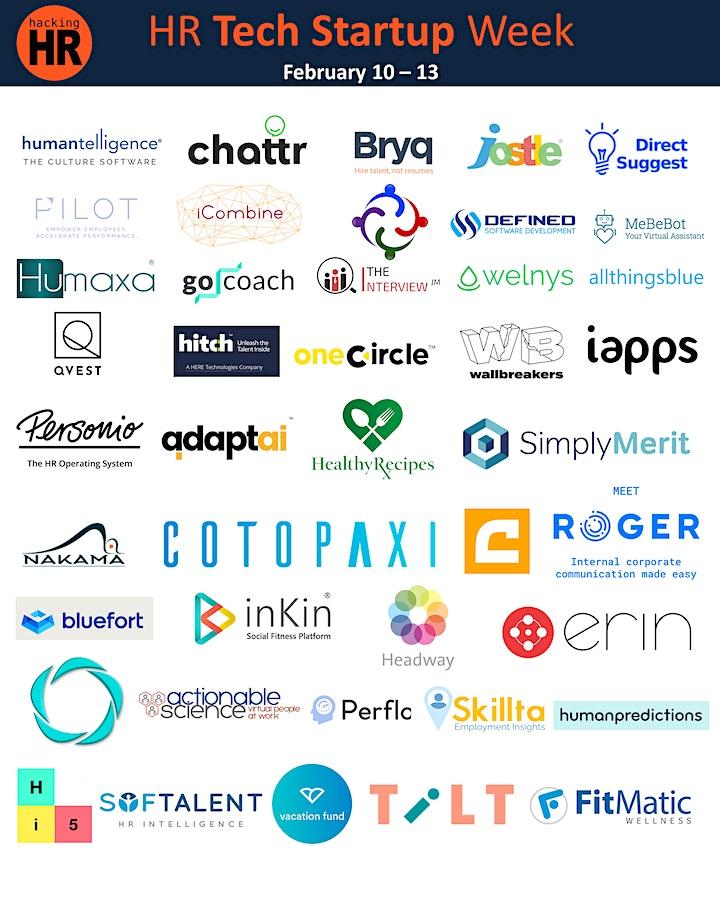HR Tech Startup Week image