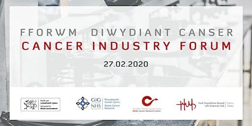 Cyfarfod Fforwm y diwydiant canser | Cancer Industry Forum Group Meeting