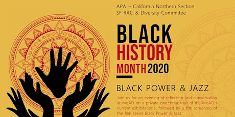 APA Celebrates Black History Month at MOAD tickets