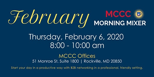 February MCCC Morning Mixer