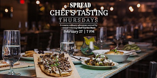 Chef's Tasting Thursday - February 2020