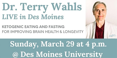 Dr. Terry Wahls LIVE in Des Moines tickets