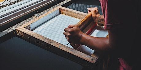 Screen Printing Workshop with Burwood Brickworks tickets