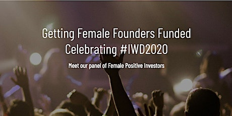 Getting Female Founders Funded tickets