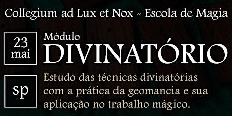 [SP] Curso de LVX - Módulo Divinatório ingressos