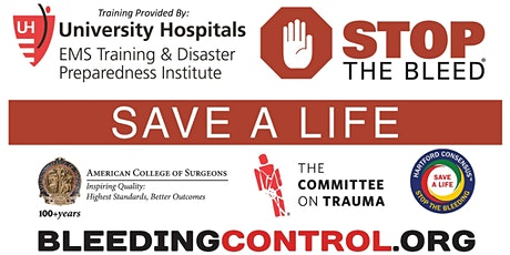 FREE Stop the Bleed Training   Westlake Recreation Center tickets