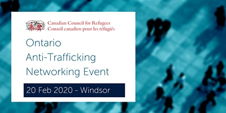 CCR Ontario Anti-Trafficking Networking Event tickets