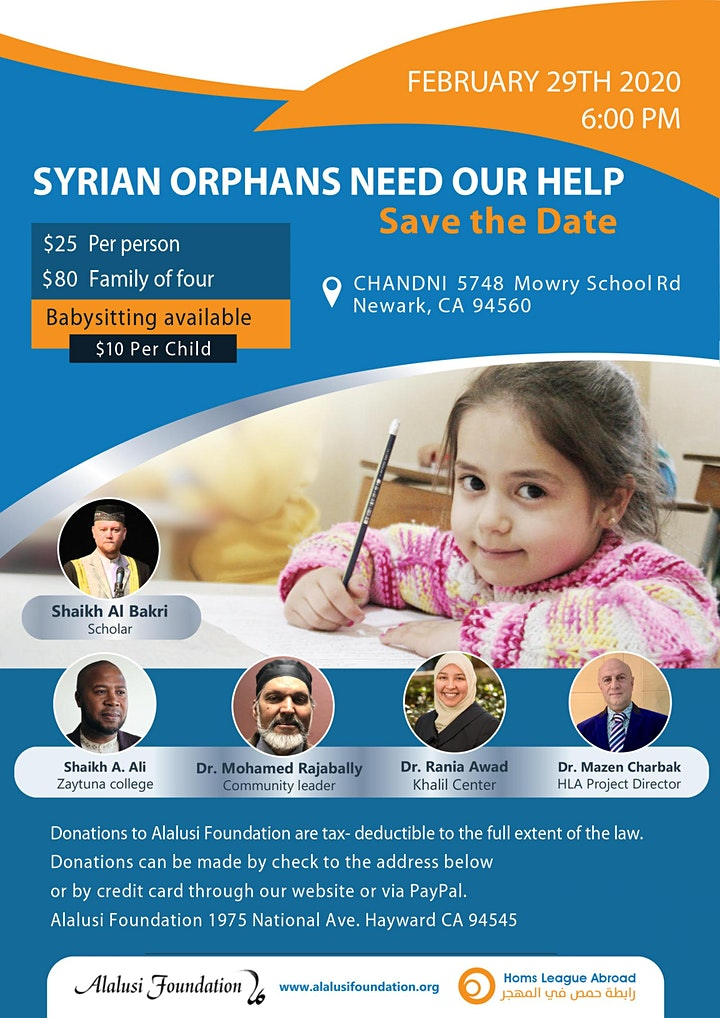 Syrian Orphans Need Our Help image