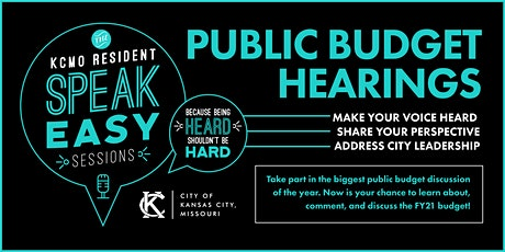 KCMO Public Budget Hearing (South) tickets