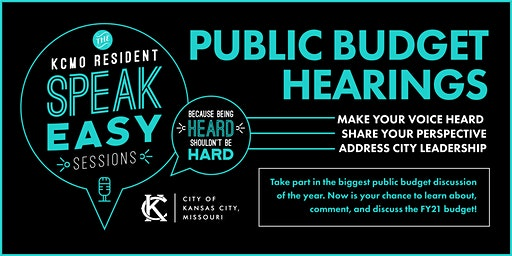KCMO Public Budget Hearing (South)